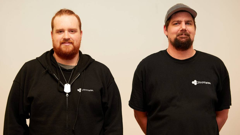 Cryptopia founders Adam Clark and Rob Dawson