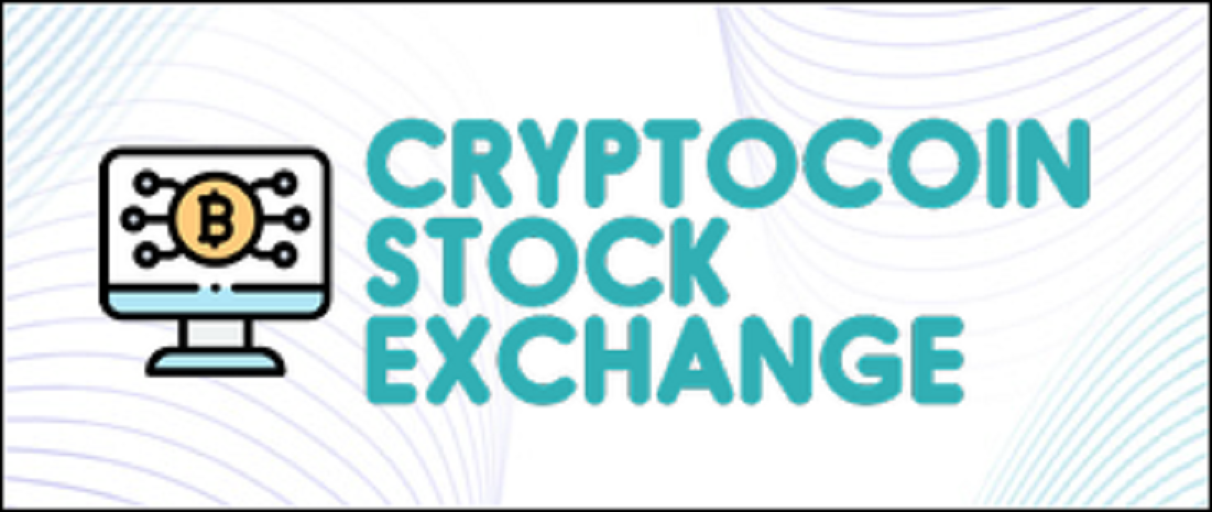 Cryptocoin Stock Exchange is a Blockchain & Cryptocurrency News Blog Where You Can Find Daily News, Articles, Reviews and Guides About Cryptocoins including Technical Analysis, Blockchain Events, Coin Prices Marketcap And Detailed Reviews on Crypto Exchanges and Brokers.