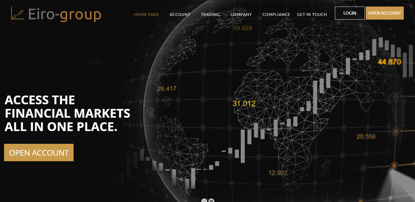 Eiro-group website