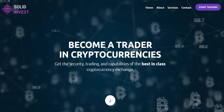 Solid Invest website