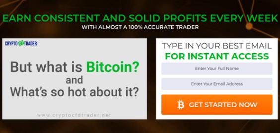 Crypto CFD Trader signup