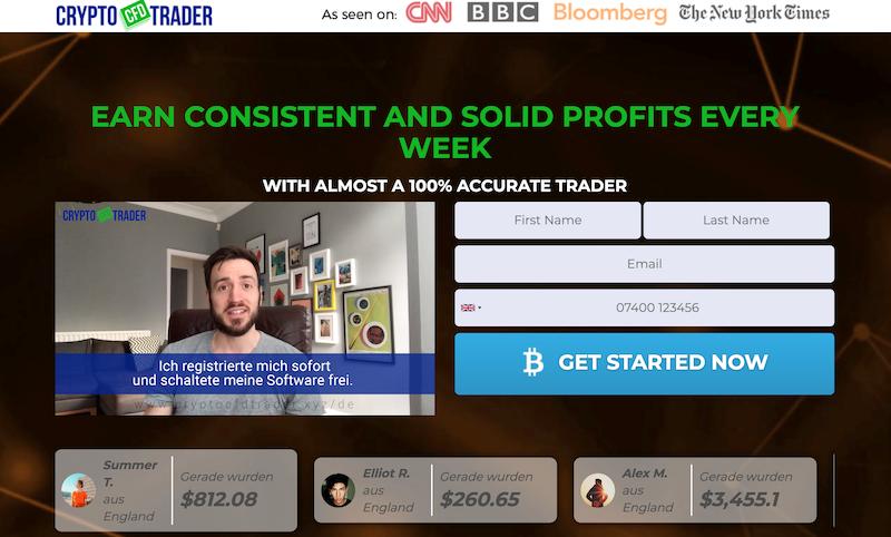 Crypto CFD Trader screenshot