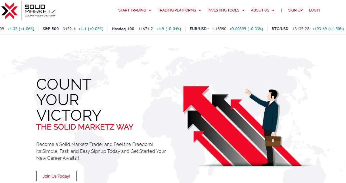 Solid Marketz Homepage