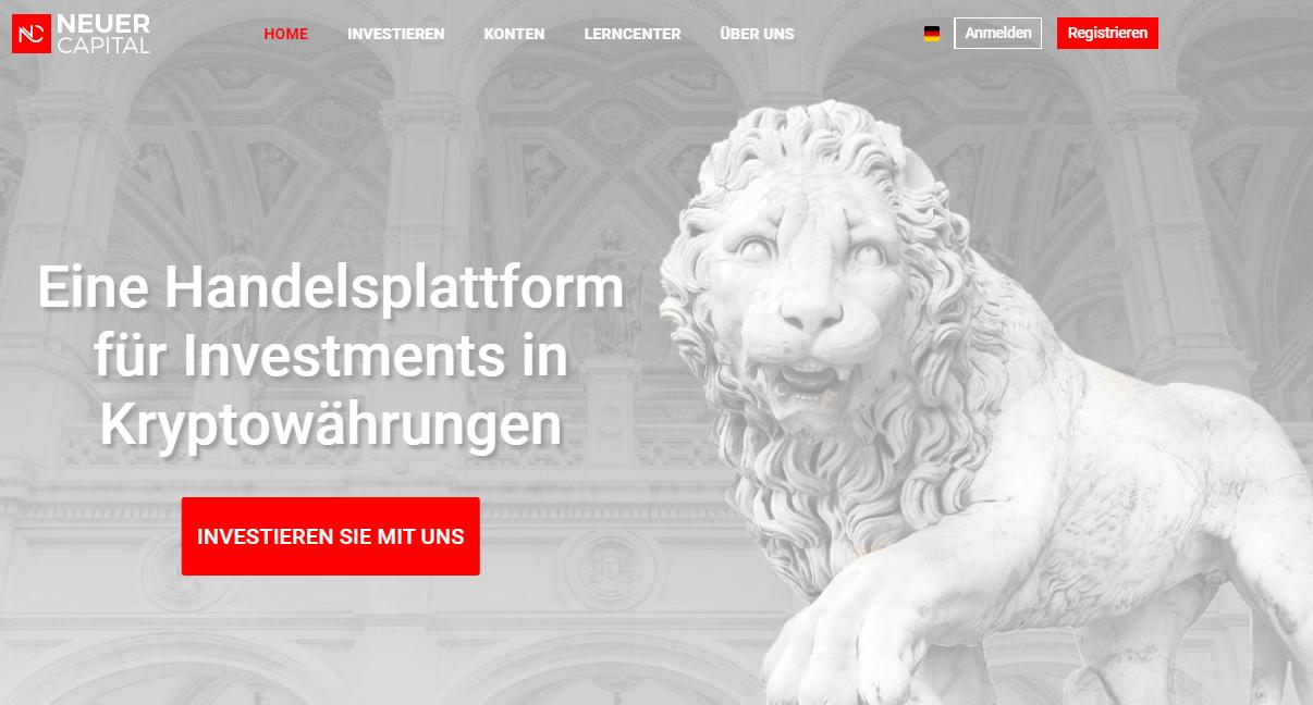 Neuer Capital Review, Bewertung, Erfahrung 2020 (Betrug?)