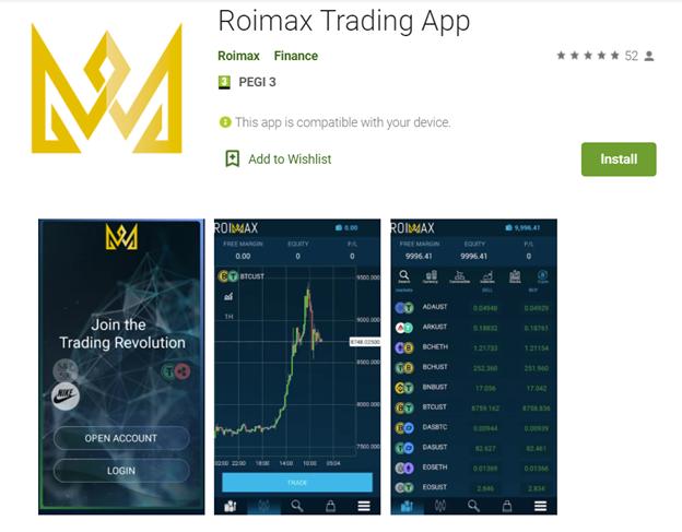 ROIMAX trading app