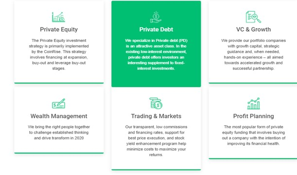 CreditEUbank Investment Options