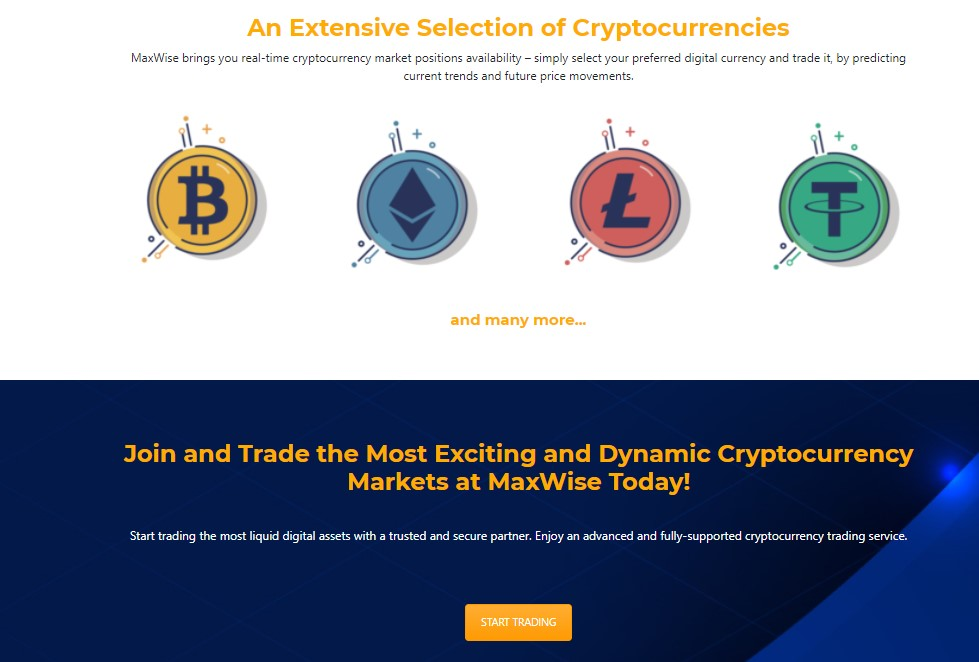 A wide variety of tradable crypto coins