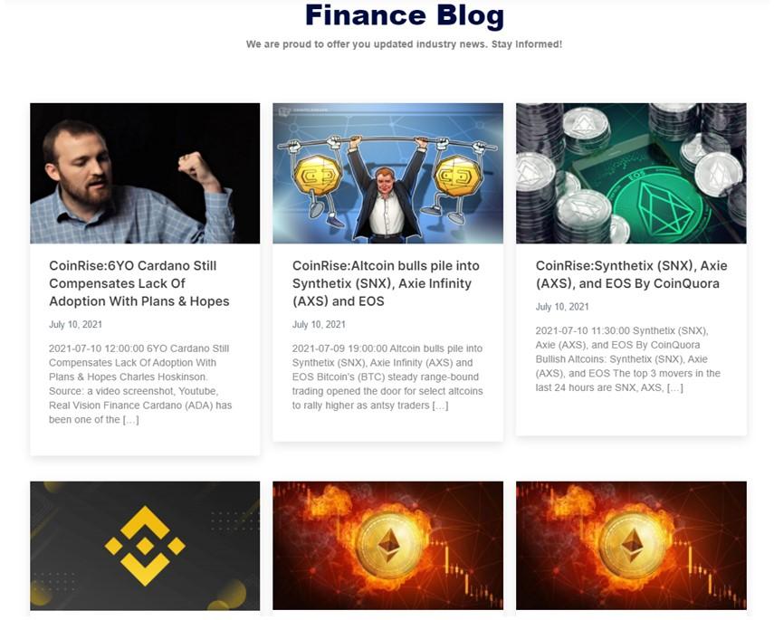 Coinrise finance blog