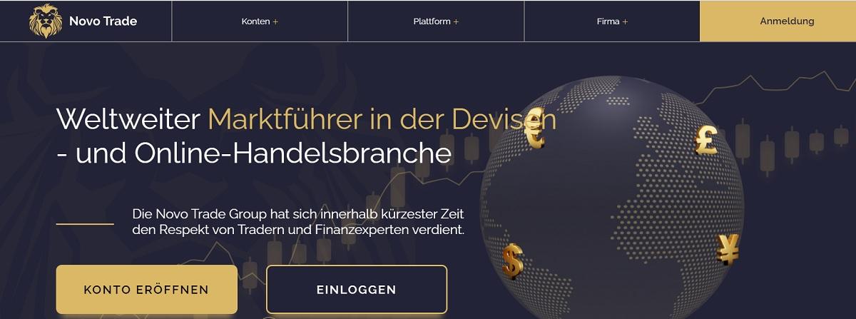 Startseite Novo Trade Group