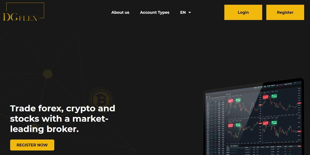 DG Flex homepage