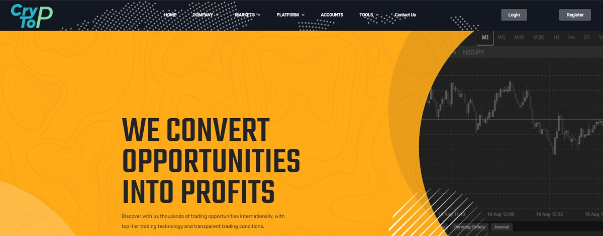 CRYPTOP home page