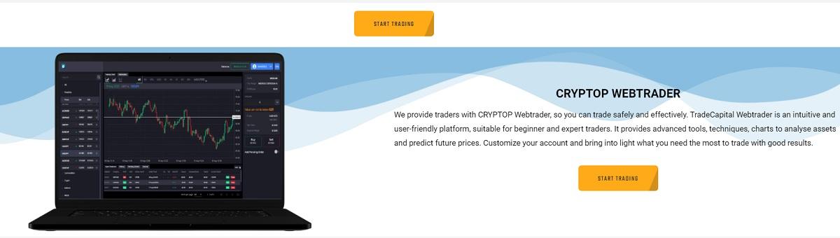 Trading Platform at CRYPTOP